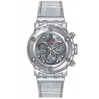 Invicta  JT 14607  Leather Chronograph  Watch