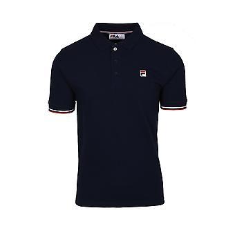 Fila Vintage Fila Wade Polo Shirt Peacoat