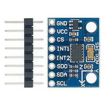 Circuit accessories 1pcs gy-291 adxl345 digital three-axis acceleration of gravity tilt module iic/spi transmission in stock