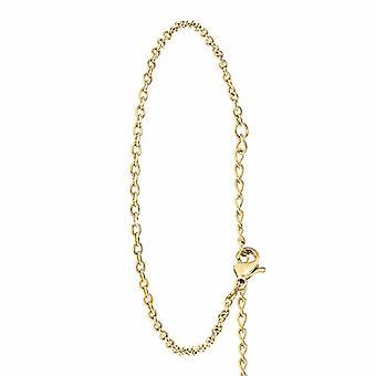 Bracelet Femme Ang�le M - B2383-DORE Acier Dor�