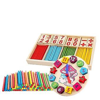 Montessori Matematica Insegnamento Aids Imparare Giocattolo