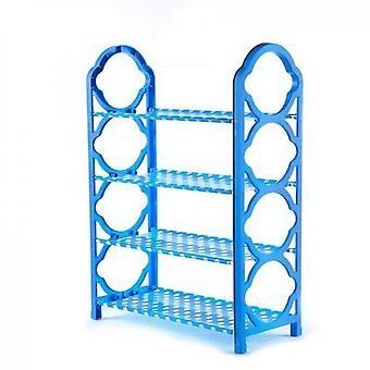 Shoe Cabinets Simple Multilayer Shoerack Aluminum Metal Shoe Cupboards Easy To Install Storage Rack Furniture For Home