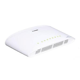Bytte D-Link DGS - 1008D 8 p 10 / 100 / 1000 Mbps