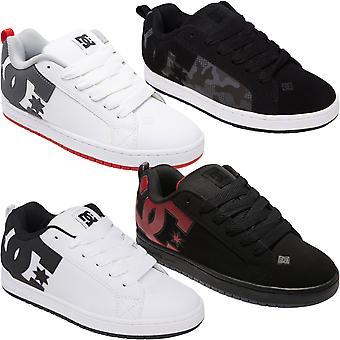 DC Shoes Mens Court Graffik cuero low top skater zapatillas deportivas