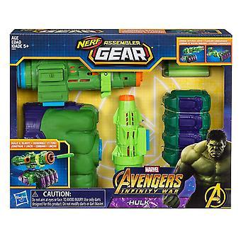 Nerf Assembler Marvel Avengers Infinity War Hulk Fist Blaster Gun Toy