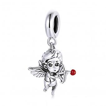 Sterling Silver Pendant Charm Cupid - 7192