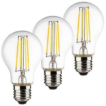 Flood spot lights müller-licht 400290Â _ set a +  set of 3Â retro led light bulb 40Â w  4Â watt  e27  silver