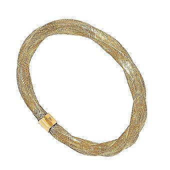 9K geelgouden rekbare armband voor vrouwen verjaardag / verjaardagscadeau 7 ''