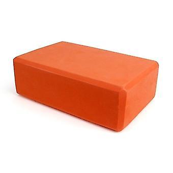 Yoga block skum tegelsten för stretching hjälp, gym, pilates, yoga etc.(Orange)