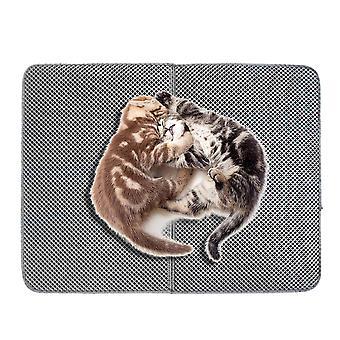 Hög elastisk Eva Vattentät Kattskräp behandlingsmatta för husdjur
