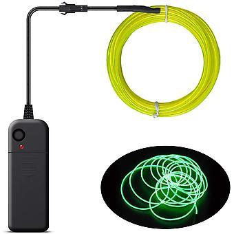 Neonowe światło kablowe, luminous Strobe, 3 tryby, nadaje się na imprezy wakacyjne