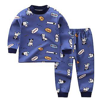 בגדי תחתונים תרמיים לילדים בנים בתוספת בגדי בית מרופדים קטיפה
