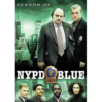 NYPD Blue: Sesong 6 [DVD] USA import