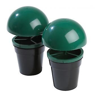 Zestaw 2 nietoksyczny nie chemiczna Slug & ślimak traper dla domu ogrodu