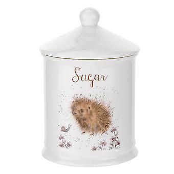 Royal Worcester Wrendale design sukker Canister, pinnsvin