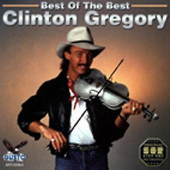 Clinton Gregory - bästa bästa [CD] USA import