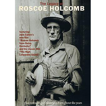 Roscoe Holcomb - arv af Roscoe Holcomb [DVD] USA import