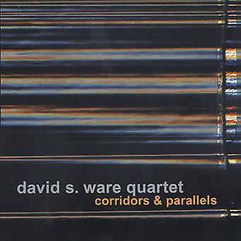 Ware, David S. Quartet - Corridors & Parallels [CD] USA import