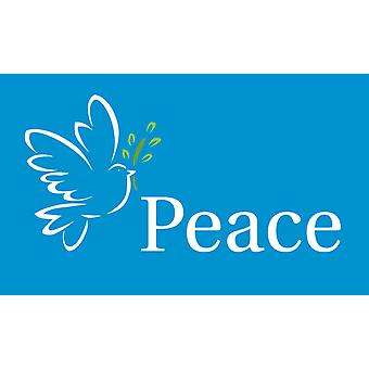 5ft x 3ft Flag - Peace