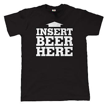 Legen Sie Bier hier Herren lustige BBQ T Shirt - Geburtstag Väter Tags Geschenk für Papa