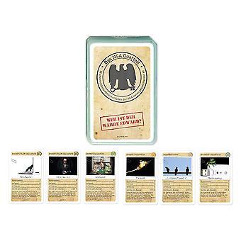 NSA Quartet Edward Snowden card game interception Quartet
