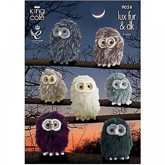 King Cole Pattern 9024 - Luxe Fur & DK Baby Owls**^