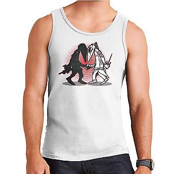 Ninja Vs Ninja Snake Eyes Vs Storm Shadow Spy Vs Spy GI Joe Men's Vest