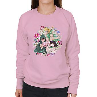 Outer Senshi Soldiers of the Outer Solar System Sailor Moon Women's Sweatshirt