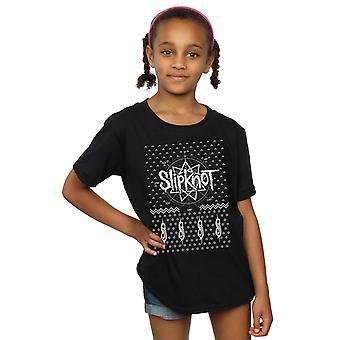 Slipknot Girls 9 Point Christmas T-Shirt