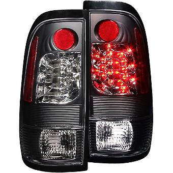 Anzo USA 311027 Ford Heritage Schwarz LED Tail Light Assembly - (paarweise)