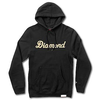 Diamond Supply Co. ville Script Pullover Hoodie noir
