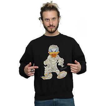 Disney Herren Mumie Donald Duck Sweatshirt
