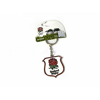 England RFU Rugby Crest Keyring