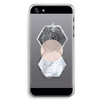 iPhone 5 / 5 s / SE Transparent Case (weich) - kreativen Touch