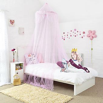 Dossel para cama meninas - rápido e fácil para pendurar o dossel da cama do quarto acessórios para decoração do quarto de meninas Ideal de crianças