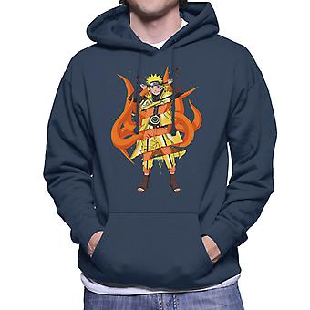 Naruto Kyuubi Fusion Men's Hooded Sweatshirt