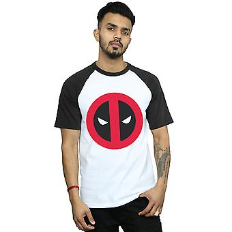 Marvel mænds Deadpool ren Logo Baseball T-Shirt