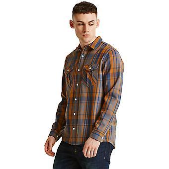 Dare 2b Mens propiedad cepillado algodón manga larga camisa de caminar