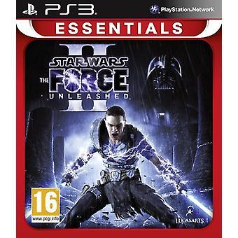 Star Wars Force Unleashed II (PS3) - Uusi