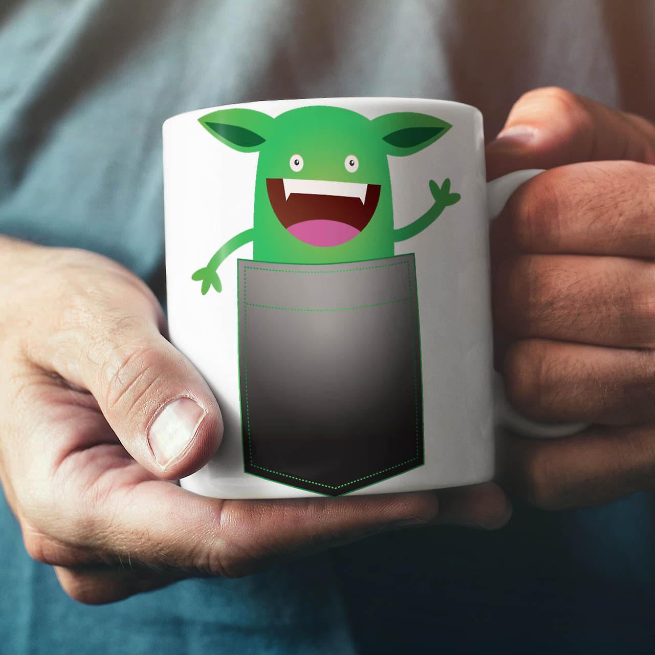 Cute Funny Little NEW White Tea Coffee Ceramic Mug 11 oz   Wellcoda