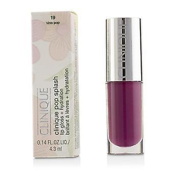 Clinique Pop Splash Lip Gloss + hydrering - # 19 Vino Pop - 4.3ml/0.14oz