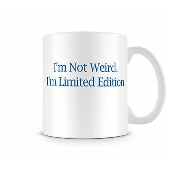Limited Edition Printed Mug