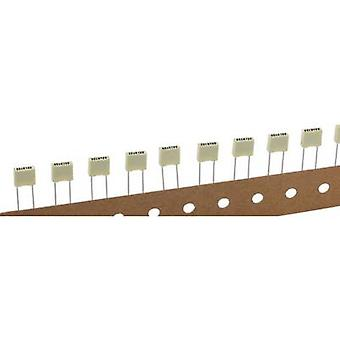 Kemet R82EC2220DQ50K+ 1 pc(s) PET capacitor Radial lead 22 nF 100 V 10 % 5 mm (L x W x H) 7.2 x 2.5 mm x 6.5 mm