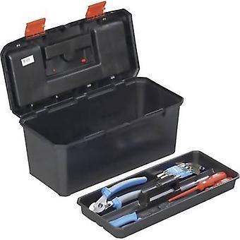 Alutec 56270 työkalu rasia (tyhjä) muovi musta, oranssi
