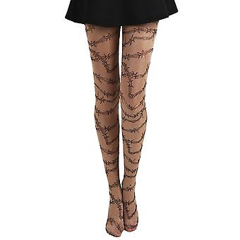 Pamela Mann Barbed Wire Tattoo Tights