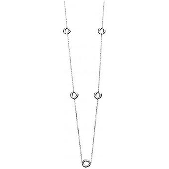 Beginnings Organic Station Necklace - Silver