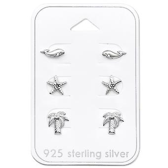 Beach - 925 Sterling Silver Sets - W30777x