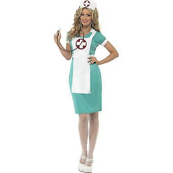 Scrub Krankenschwester Kostüm, UK Kleid 8-10