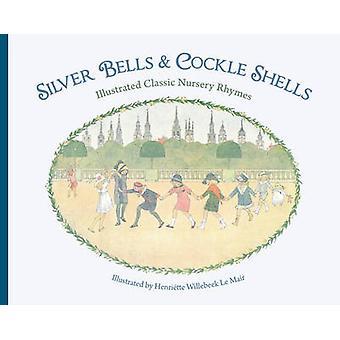 Silber-Glocken und Herzmuscheln Schalen - illustrierte klassische Kinderreime durch
