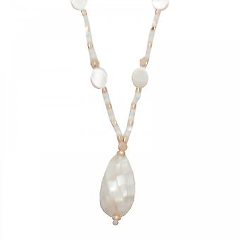 Bcharmd Elise Abalone Shell Necklace